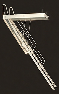 G Series Rainbow Attic Stair